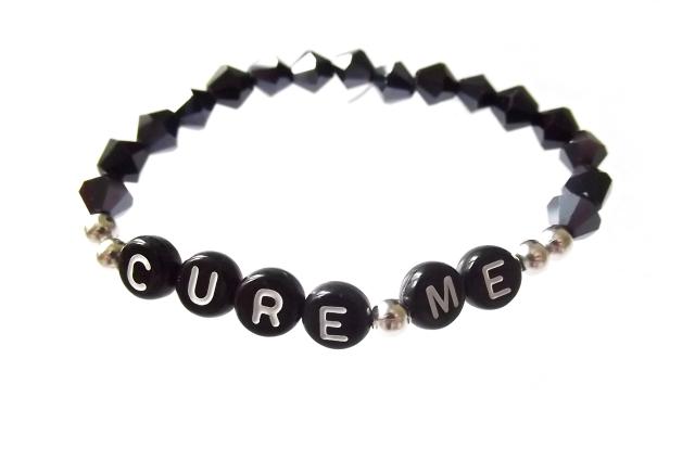 Cure Me - Crystal Noir, 100kr varav 20kr går till Diabetesfonden.