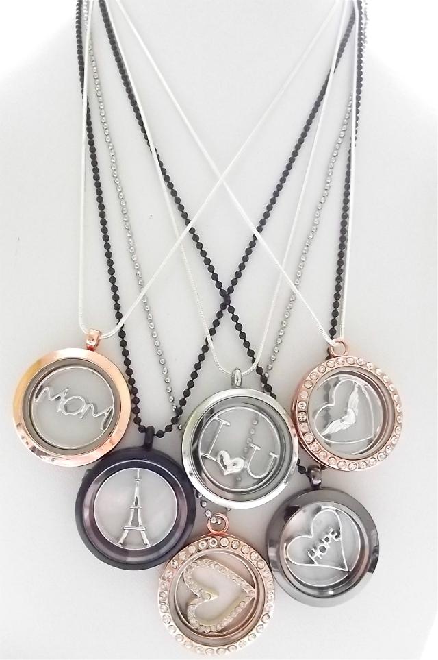Memory Locket Pendants Necklaces, 149kr